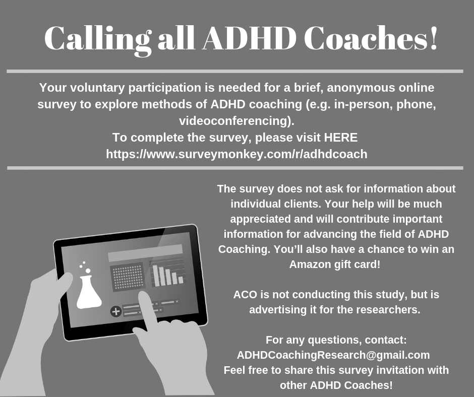 Calling all ADHD Coaches!