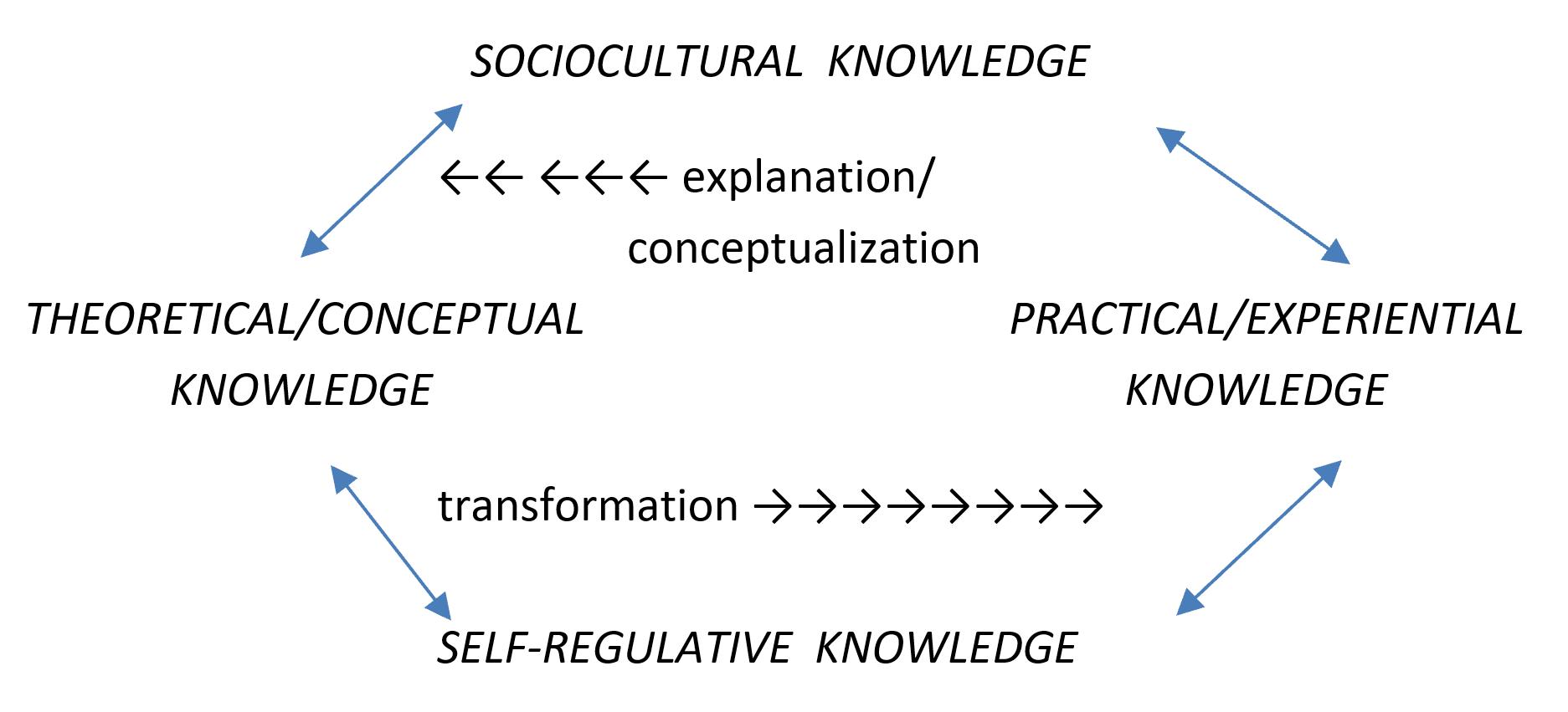 A Representation of Integrative Pedagogy Components (Tynjala et al., 2016)